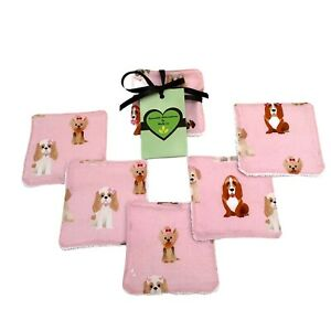 Dog reusable makeup wipes, washable cotton pads, Eco friendly stocking filler