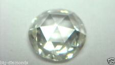 5.00mm/ 1Piece Natural Real G Color VVS-VS White Round Rose Cut Diamond