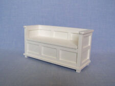 Bench for 12 inch doll 1:6 scale Barbie Dollhouse Furniture