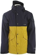 HOLDEN Men's EVERGREEN Snow Jacket - Peacoat/Antique Moss - Large - NWT