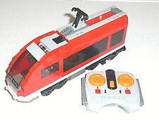 LEGO System City 7938 Locomotive Motrice RC Rame TER Train électrique Eisenbahn