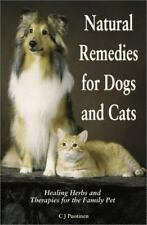 Natural Remedies for Dogs and Cats, Puotinen, CJ, Good Condition, Book