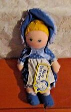 VINTAGE BLUE BONNET SUE BUTTER DOLL DAKIN 1986 MARGINE ADVERTISE RAG DOLL