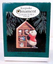 New 1995 Hallmark Collecting Memories Keepsake Ornament Collector's Club