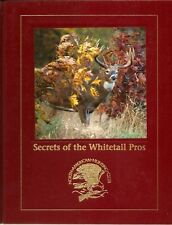 Secrets of the Whitetail Pros NAHC First Edition deer hunting hunter how-to book