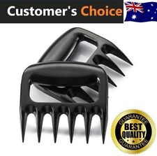 1 Set of 2 Bear Claws Meat Shredder Forks Tongs Paws BBQ Roast Pork Beef Chicken