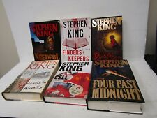 Lot of 6 Stephen King Hardcover Books