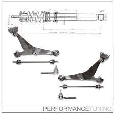 Kit -6 pcs- Bras de Suspension Avant, Gauche + Droite - PEUGEOT 106 / CITROËN AX