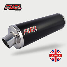Honda CBF600 2004-07 Classic Black S/S Round MicroMini UK Road Legal Exhaust