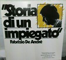 Storia di un impiegato, Fabrizio De Andrè, lp Vinile  180 Grammi editoriale