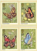 Butterflies PHQ 51 1981 Set of 4