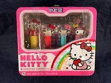 Hello Kitty PEZ - 4 Collectible Dispensers, Candy and Metal Lunchbox