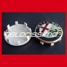 Alfa Romeo Nabenkappen Nabendeckel Felgendeckel 60mm auch Zender Milano