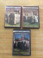 DOWNTON ABBEY SEASON 1 2 & 3 - 9 DVD SET - PBS - MASTERPIECE CLASSIC - FREE SHIP