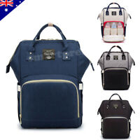 Luxury Multifunctional Baby Diaper Nappy Backpack Waterproof Mummy Changing Bag