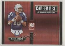 New listing 2005 Donruss Elite Career Best /1000 Peyton Manning #CB-36
