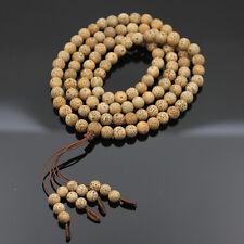 Bodhi Seed Tibet Buddhist 108 Prayer Beads Mala Necklace