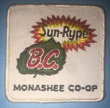 1970's BC Sun Rype Fruit Apple Juice CO-OP Hipster Jacket Farmer Hat Patch 945R