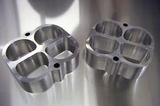 "Fits Weiand Tunnel Ram Aluminum Intake Spacer Gasser Riser Rat SBC SBF 2"" Tall"