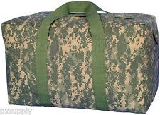 cargo bag parachute style canvas army acu digital camo fox 40-547