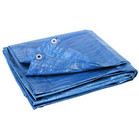 Tarpaulin Blue or Green For Covers Camping Picnics Ground Sheet Waterproof