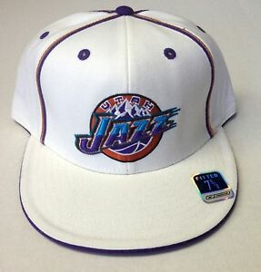 NBA Utah Jazz Reebok Fitted Cap Hat T371M NEW!