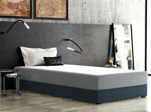 Bett Kiya 80x190 Schlafzimmer Jugendzimmer mit Matratze Bettkasten Komfort NEU
