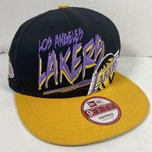 New Era Los Angeles Lakers Snapback Hardwood Classics 9Fifty Medium-Large