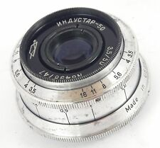 Soviet Lens INDUSTAR 50 3,5/50 M39 SLR USSR Working Condition