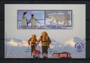 BELGIUM 2009 preserve the polar regions  MNH** blok 166