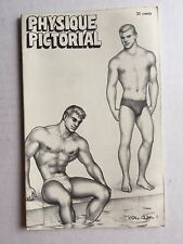 August 1963 Physique Pictorial Gay Men's Magazine