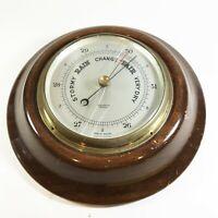 Vintage Short & Mason London Barometer <T25