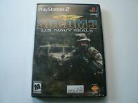 SOCOM 3: U.S. Navy SEALs (Sony PlayStation 2, 2005) PS2 Complete
