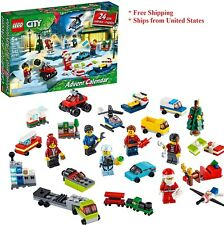 Lego City Advent Calendar 60268 Building Kit 342pcs Block Brand New 2020