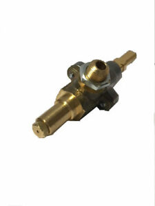 BBQs-R-US gas cock/gas valve for gas BBQ. Suits Leisure Time, Rinnai, Grand Hall