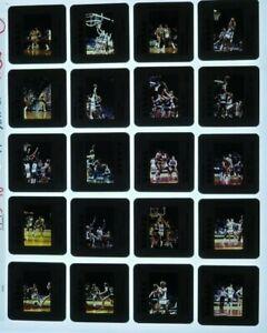 JTM3-10 1989 NBA Boston Celtics Bucks Larry Bird McHale (26) ORIG 35mm Slides
