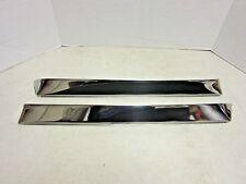 1962 63 64 65 Chevy II Nova 4 Door Window Vent Shades Rain Deflectors NOS GM Set