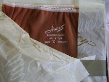 New/Vintage Hanes 530 M Walking Sheer Stockings,South Pacific,10 M, 3 Pair