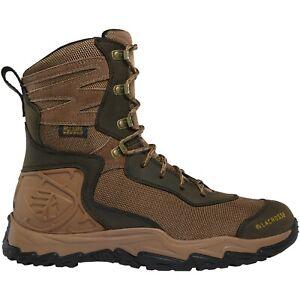"Lacrosse 513360 Men's Windrose 8"" Brown Nubuck Waterproof Hunting Boots Shoes"