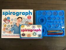 The Original Spirograph Design Set 30 Piece Drawing Set Markers Directions