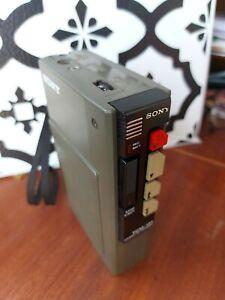 VINTAGE PRE WALKMAN Sony TCM-131 Tape Recorder Cassette Works READ DESCRIPTION