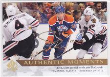 2012 12-13 SP Authentic Limited Autographs #158 Jordan Eberle AM B