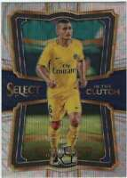 2017-18 Panini Select Soccer In the Clutch Insert #26 Marco Verratti