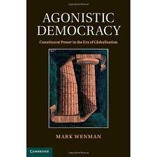 Agonistic Democracy Constituent Power Era Globalisati. 9781107003729 Cond=LN:NSD