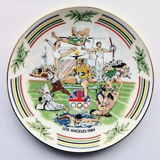1984 Los Angeles Olympic Games Fine Bone China Plate Paragon Royal Doulton