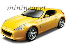 MAISTO 31200 2009 09 NISSAN 370Z COUPE 1/24 DIECAST MODEL CAR YELLOW