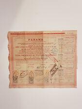 Action 60 fr Cie Universelle du Canal Interocéanique de Panama 1888