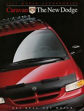 Dodge Caravan Accessories Mopar Prospekt 1997 brochure Autoprospekt Auto Pkw car