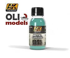 Metal Burnishing Fluid for Tracks 100ml Bottle - AK Interactive 159