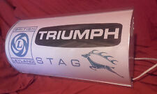 Triumph,leyland,stag,BL,garage,workshop,mancave,light up,sign,vintage,display